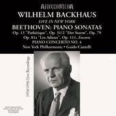Beethoven: Piano Works (Live in New York, 1954, 1956) von Wilhelm Backhaus