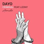 Criminal - Acoustic Version de Dayo