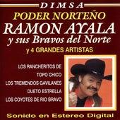 Dimsa Poder Norteño: Ramon Ayala y 4 Grandes Artistas by Various Artists