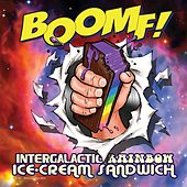 Intergalactic Rainbow Ice-Cream Sandwich by Boomf!