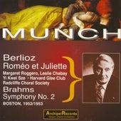 Hector Berlioz : Romeo & Juliette - Brahms : Symphony No. 2 (Boston 1952-1953) von Boston Symphony Orchestra