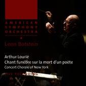 Lourié: Chant funèbre sur la mort d'un poète by American Symphony Orchestra