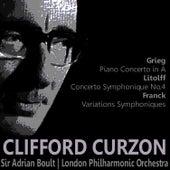Gieg: Piano Concerto in A - Litolff: Concerto Symphonique No. 4 - Franck: Variations Symphoniques by Clifford Curzon