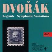 Dvořák: Legends, Symphonic Variations by Czech Philharmonic Orchestra