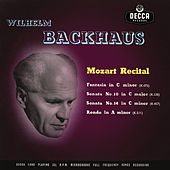 Mozart Recital by Wilhelm Backhaus
