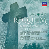 Dvořák: Requiem, Biblical Songs, Te Deum de Czech Philharmonic