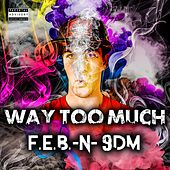 Way Too Much (feat. 9DM) by F.E.B.