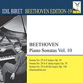 Beethoven: Piano Sonatas, Vol. 10 by Idil Biret