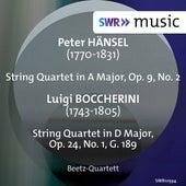 Hänsel: String Quartet, Op. 9 No. 2 - Boccherini: String Quartet, Op. 24 No. 1, G. 189 by Beetz-Quartett