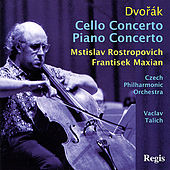 Dvořák: Cello Concerto  and Piano Concerto de Various Artists