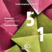 Shostakovich: Symphonies Nos. 5 & 1 by London Symphony Orchestra