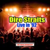 Live in '92 (Live) de Dire Straits