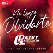 No Logre Olvidarte (feat. La Decima Banda) de Petey Quezada