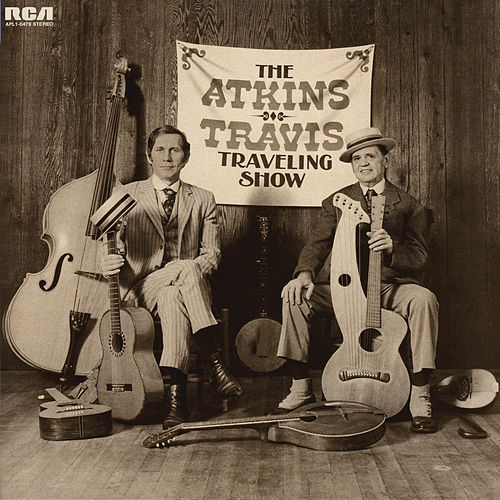 The Atkins-Travis Traveling Show by Chet Atkins