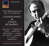 The Beginning of a Legend: Celedonio & Celin Romero by Celedonio Romero
