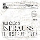 Illustrations (Historical Recording) di Wiener Johann-Strauss-Orchester