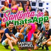 Santinha do  Whatsapp de Santoro e Samuel