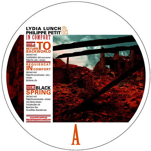 In Comfort by Lydia Lunch