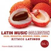 Latin Music Collection - Ritmos Latinos, Vol. 1 (Salsa, Reggaeton, Merengue, Rumba, Cumbia) de Orquesta Marc Ventura