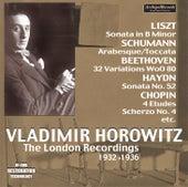 The London Recordings (1932-1936) by Vladimir Horowitz
