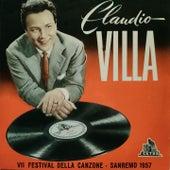 Claudio Villa (VII Festival della Canzone / San Remo 1957 ) di Claudio Villa