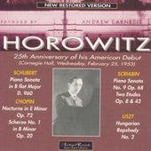 25th Anniversary of his American Debut (Carnegie Hall, Feb.1953) by Vladimir Horowitz