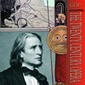 Franz Liszt · The masters of music by Geza Anda, Otto Ackermann, Philharmonia Orchestra London