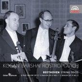 Beethoven : String Trios by Leonid Kogan