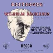 """Beethoven: Piano Sonatas Nos. 27, 28 & 29 """"Hammerklavier"""" (Mono Version) de Wilhelm Backhaus"""