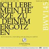Bachkantate, BWV 145 - Ich lebe, mein Herze, zu deinem Ergötzen von Chor der J. S. Bach-Stiftung