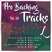 Pro Backing Tracks L, Vol.20 by Pop Music Workshop