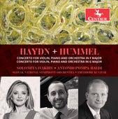 Haydn: Keyboard Concerto in F Major, Hob. XVIII:6 – Hummel: Concerto for Violin & Piano, Op. 17 von Antonio Pompa-Baldi