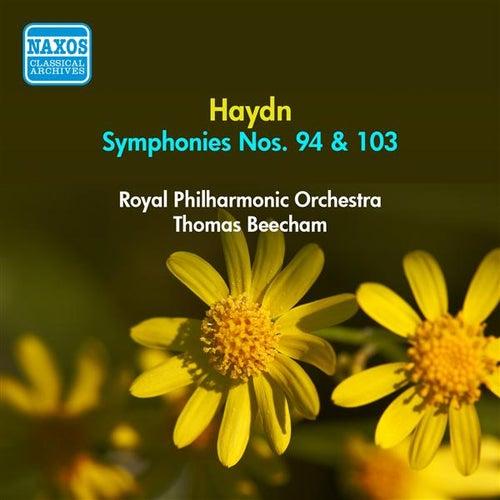 Haydn, J.: Symphonies Nos. 94 and 103 (Beecham) (1951) by Thomas Beecham