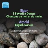 Elgar: 3 Bavarian Dances / Chanson De Nuit / Chanson De Matin / Arnold, M.: English Dances (Boult) (1954) by Adrian Boult