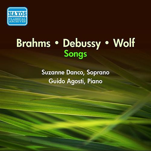 Vocal Recital: Danco, Suzanne - Brahms, J. / Wolf, H. / Debussy, C. (1950) by Suzanne Danco