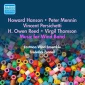 Reed, H.O.: La Fiesta Mexicana / Persichetti, V.: Psalm / Thomson, V.: A Solemn Music (Eastman Wind Ensemble) (1954) by Frederick Fennell