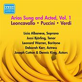 Operatic Arias - Verdi / Puccini / Leoncavallo (Bjorling, Albanese, Warren) (Arias Sung and Acted, Vol. 1) (1954) by Various Artists