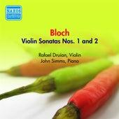 Bloch, E.: Violin Sonatas Nos. 1 and 2 (Druian) (1957) by Rafael Druian