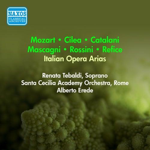 Vocal Recital: Tebaldi, Renata - Mozart, W.A. / Cilea, F. / Catalani, A. / Mascagni, P. / Rossini, G. / Refice, L. (1955) by Renata Tebaldi