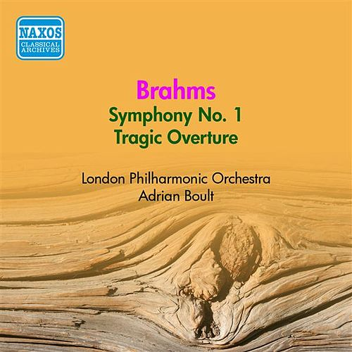 Brahms: Symphony No. 1 (Boult) (1954) by Adrian Boult