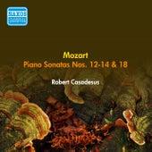 Mozart, W.A.: Piano Sonatas Nos. 12, 13, 14, 18 (Casadesus) (1956) by Robert Casadesus