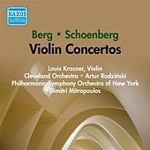 Berg / Schoenberg: Violin Concertos (Krasner) (1954) by Various Artists