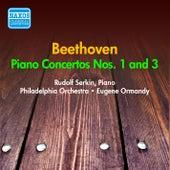 Beethoven: Piano Concertos Nos. 1, 3 (Serkin) (1953-1954) von Rudolf Serkin