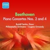 Beethoven: Piano Concertos Nos. 2, 4 (Serkin) (1954-1955) von Rudolf Serkin