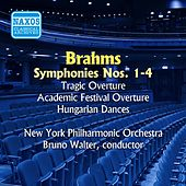 Brahms: Symphonies Nos. 1-4 / Overtures and Dances (Walter) (1951, 1953, 1954) by Bruno Walter