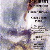 Schubert: Winterreise (Berlin 1948) von Dietrich Fischer-Dieskau