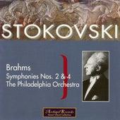 Brahms: Symphonies Nos 2 & 4 de Leopold Stokowski