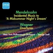 Mendelssohn, F.: Midsummer Night's Dream (A) / Wagner, R.: Opera Overtures (Szell) (1951, 1954) by George Szell