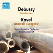Debussy, C.: Nocturnes / Ravel, M.: Rapsodie espagnole (Suisse Romande Orchestra, Ansermet) (1951) de Ernest Ansermet