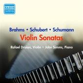 Schubert: Fantasy in C Major / Duo Sonata / Schumann, R.: Violin Sonata No. 1 / Brahms: Violin Sonata No. 2 (Druian) (1956) by Rafael Druian